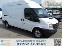 2011 11 FORD TRANSIT LWB HIGH ROOF T350 100BHP TWIN SLD ONE OWNER
