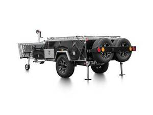Lumberjack Camper Trailer with fridge valued at $1200 Ironbark Bendigo City Preview