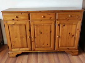 Ducal Victoria solid pine sideboard