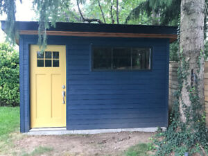 New Maibec Wood Siding for Shed or Pool House for sale