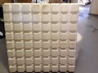Polystyrene insulation sheets