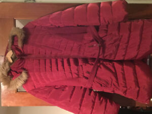 Woman's 3x red winter jacket