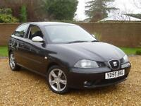 2005 55, Seat Ibiza 1.9 TDI 130 FR 3 DOOR Hatchback ++ LOTS OF SERVICE HISTORY