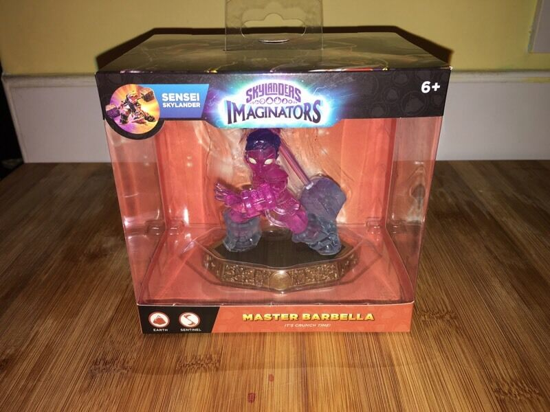 *RARE* Skylanders Imaginators Master Barbella(Collectors Item)