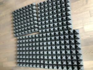 Sound Insulation Foam (4 Panels)