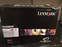 Lexmark 12A0825 black toner cartridge
