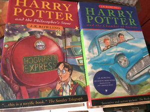 harry potter paperbacks