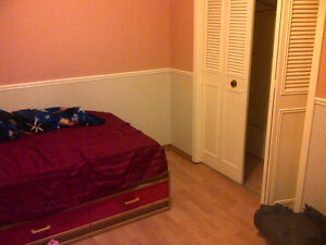 edgemont NW upstairs/basement bedroom close transit incl utility
