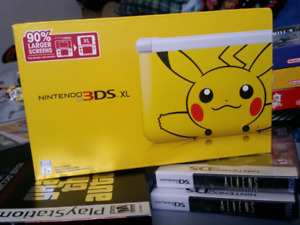 Pikachu 3DS XL (sealed)