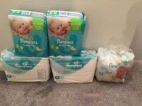 Pampers nappys