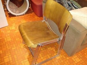 Original midcentury vintage 40/4 dining or office chairs