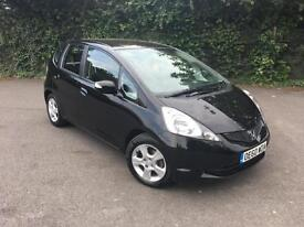 HONDA JAZZ 1.4 VTEC ES BLACK 5 DOOR HATCHBACK PETROL MANUAL 2011