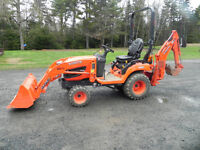 FOR RENT/HIRE- Mini Kubota Backhoe