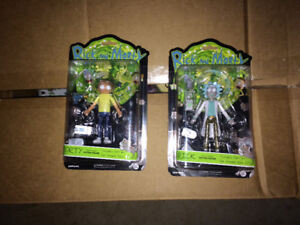 Rick and Morty action figures