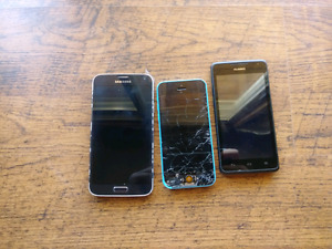 Broken/USED phones for sale
