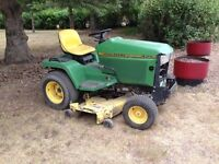 Jd 425 lawn tractor mower
