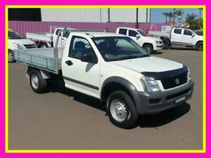 2003 Holden Rodeo RA LX White 5 Speed Manual Cab Chassis Dubbo Dubbo Area Preview