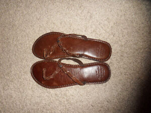 Brand New Real Leather Abercrombie Sandals!