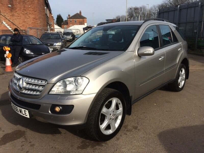 2007 mercedes ml 320 cdi sport automatic 3 keys full serv hist leather in leicester. Black Bedroom Furniture Sets. Home Design Ideas