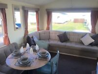 3 BEDROOM STATIC CARAVAN FOR SALE AT CRIMDON DENE , NORTH EAST , 12 MONTH PARK , PET FRIENLDY