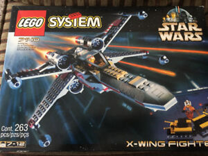 Star Wars LEGO system x-wing fighter 7140