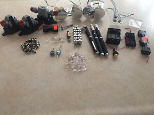 Lazer Lights Bulbs, Toggle Switches, Hobbie Kit