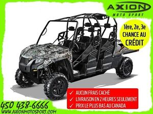 2017 Arctic Cat HDX 700 CREW XT CAMO 62,91$/SEMAINE