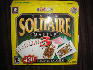 SOLITAIRE MASTER CD-Rom  - 450 COMPLETE GAMES