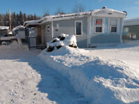 Mobile Home for sale, Mackenzie BC