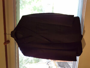 50R /45 Waist Calvin Klein Suit Pin Stripe Worn Once As New