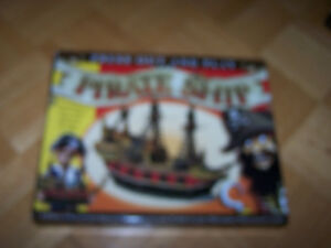 Press Out And Play Pirate Ship Construction Kit - new in box