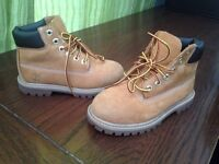 Kids Timberlands size 10