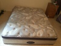 Queen size beauty rest bed!