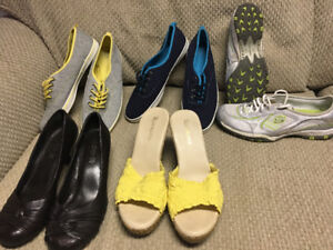 Assorted Ladies shoes for sale sizes 9-10