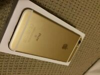 New condition iPhone 6s 16GB unlocked gold with box