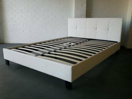 Brand New White Di Lusso, Italian Inspired Queen Size bed