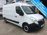 2011 61 VAUXHALL MOVANO 2.3 F3500 MWB MEDIUM ROOF FULLY FITTED WORKSHOP VAN