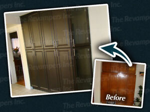 Kitchen Cabinet Refacing & countertop