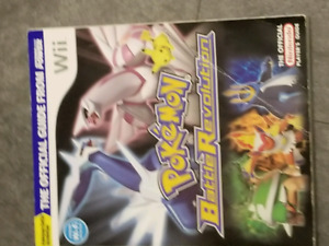 Pokemon Battle Revolution Guidebook (Wii)