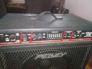 Peavy TKO 115 Bass amplifier and stage speaker London Ontario image 5