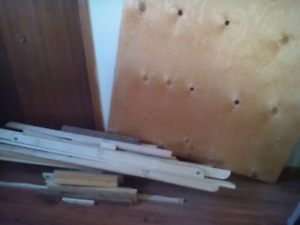 Wood scraps/plywood
