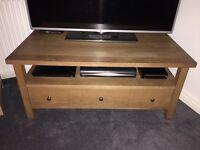 Next solid oak tv/media cabinet