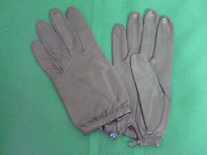 Thin leather gloves, $25 each (Vanc)