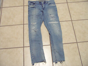"AMERICAN EAGLE 29X30 ""SLIM"" JEANS - 6 PAIRS"