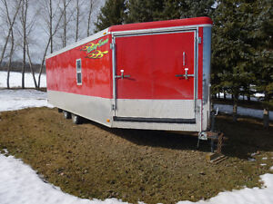 8.5 x 26 Enclosed Cargo Trailer (Front & Rear Ramp doors )