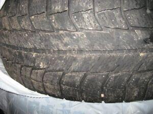 4 - P245/65R17 Michelin X-ICE WINTER TIRES