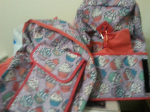 5 new girls backpack s with tags