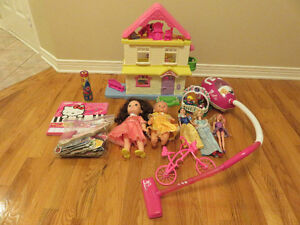 Toy Lot for Young Girl