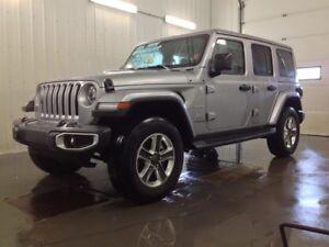2018 Jeep Wrangler Jl Unlimited Sahara