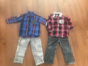 Lot de vêtements garçon souris mini 2 ans